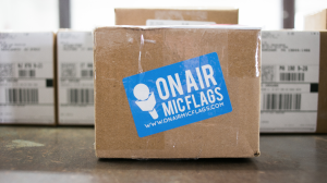 ON AIR MIC FLAGS FAST SHIPPING