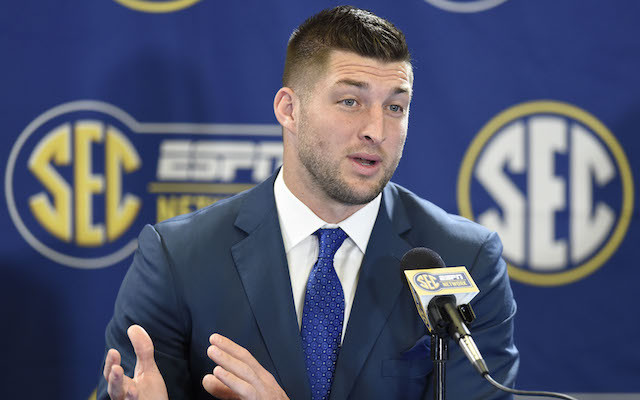 TIM TEBOW SEC MIC FLAG