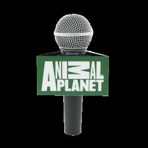 ANIMAL PLANET Custom Triangle Mic Flag