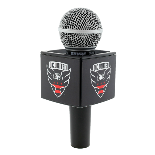 DC UNITED BLACK RYCOTE CUBE MIC FLAG