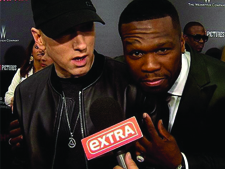 50 CENT EXTRA MIC FLAG