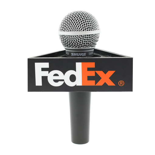 FEDEX Triangle Mic flag