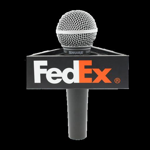 FEDEX Triangle Mic flag