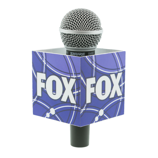 FOX SQUARE MIC FLAG