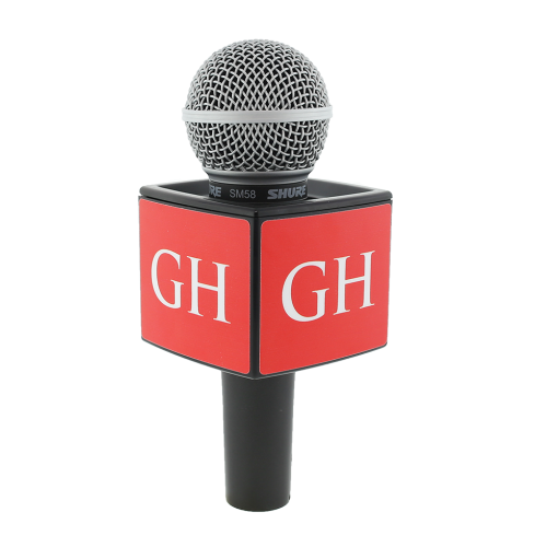 GH CHURCH BLACK RYCOTE MIC FLAG