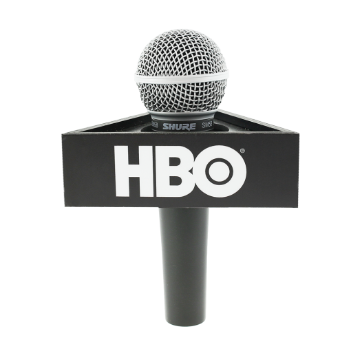 HBO Triangle Mic Flag