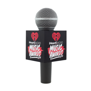 IHEARTRADIO MUSIC AWARDS LIVE MIC FLAG