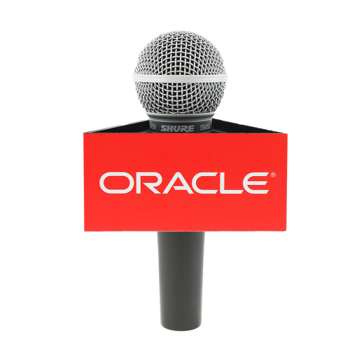 ORACALE Triangle Mic Flag