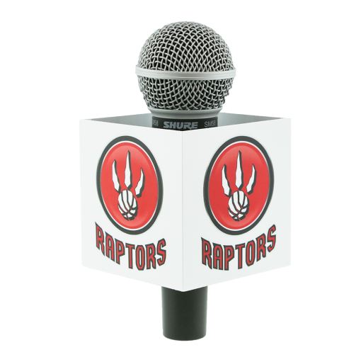 RAPTORS SQUARE MIC FLAG