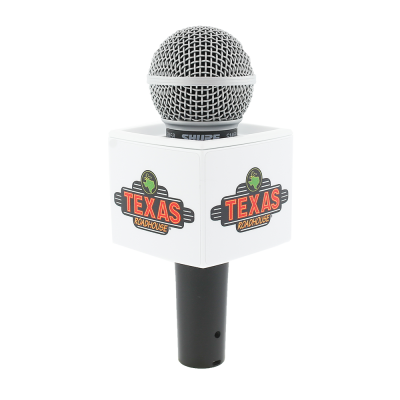 TEXAS ROADHOUSE WHITE RYCOTE MIC FLAG