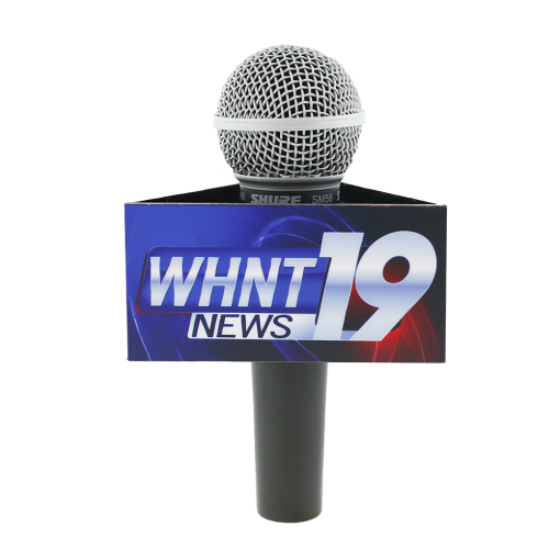 WHNT Triangle Mic Flag