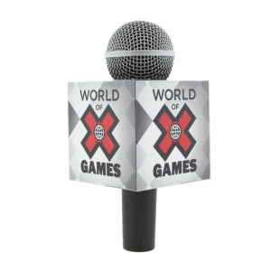 X-GAMES CUBE MIC FLAG