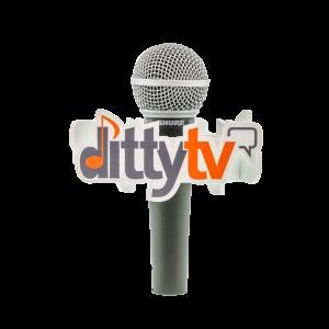 DITTY TV CUSTOM MIC FLAG