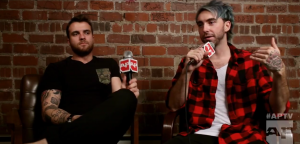 AP Magazine All Time Low Mic Flag