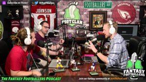 Fantasy Footballers Podcast Mic Flag