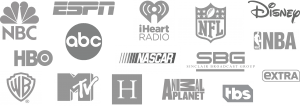BROADCAST INDUSTRY MIC FLAG CUSTOMERS