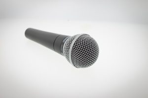 On Air Mic Flags Microphone