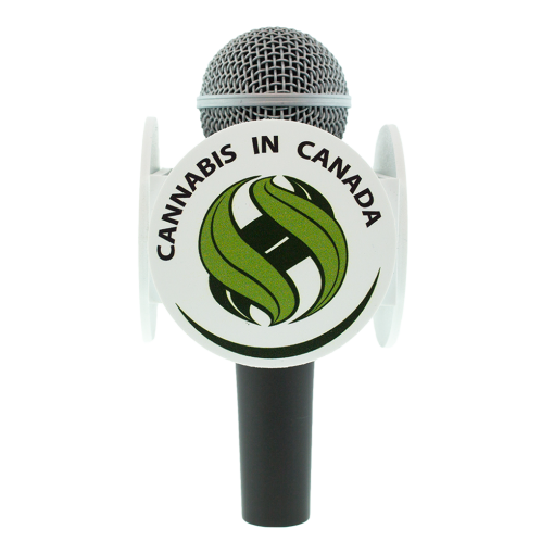 CANNABIS IN CANADA MIC FLAG