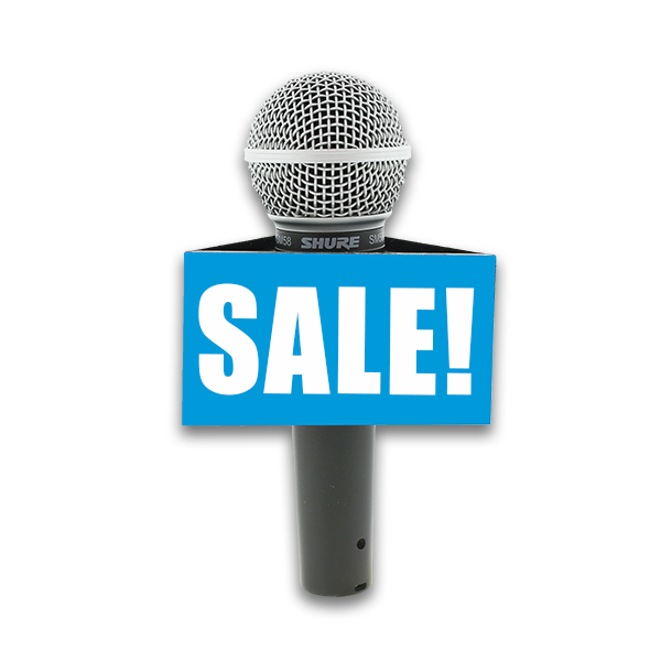 FLASH SALE from On Air Mic Flags